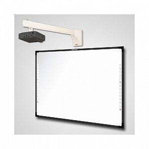 Интерактивный Комплект Q82/IN124STa/WTH140 - доска IQBoard DVT TQ082 + проектор Infocus IN124STa + крепление для проектора Wize WTH-140
