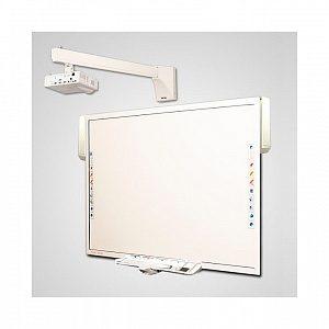 Интерактивный Комплект 78+acc/W305ST/WTH140 - доска TRIUMPH BOARD MULTI TOUCH NEW 78 + активный лоток + акустика + проектор Optoma W305ST + крепление для проектора Wize WTH-140