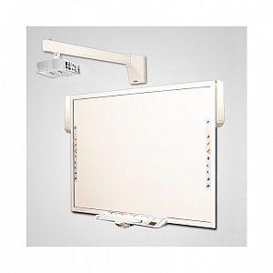 Интерактивный Комплект 78+acc/X316ST/WTH140 - доска TRIUMPH BOARD MULTI TOUCH NEW 78 + активный лоток + акустика + проектор Optoma X316ST + крепление для проектора Wize WTH-140