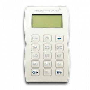 Дополнительный пульт ученика TRIUMPH BOARD RF Pad550 для систем TB Voting RF550 EAN 8592580081637