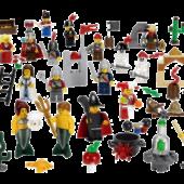 СКАЗОЧНЫЕ И ИСТОРИЧЕСКИЕ ПЕРСОНАЖИ. LEGO