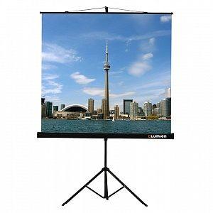 LEV-100101 Экран на штативе Lumien Eco View 150x150 см Matte White с возможностью настенного крепления 1:1