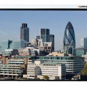 LMC-100102 Экран с электроприводом Lumien Master Control 180x180 см Matte White FiberGlass черн. кайма по периметру 1:1