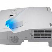 Проектор NEC UM301X UM301XG+WM, UM301XG - WK 3хLCD, 3000 ANSI Lm, XGA, ультра-короткофокусный 0.36:1, 6000:1, HDMI IN x2, USBAх2, RJ45, RS232, 20W mono, 5.5 кг, настенный крепёж NP04WK