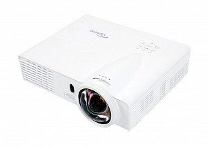 Проектор Optoma W305ST 95.8TN01GC0E Full 3D, DLP, WXGA 1280*800, 3200 ANSI Lm, 18 000:1, Короткофокусный Throw Ratio 0.52:1; HDMI, 2x15-пин D-sub RGB/YPbPr/Wireless, композит, аудиовход - Jack, USB Type B; VGA Out; RS232, 2.55 кг.