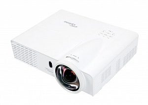 Проектор Optoma X305ST 95.8TM01GCOE Full 3D, DLP, XGA 1024*768, 3000 ANSI Lm, 18 000:1, Короткофокусный Throw Ratio 0.626:1; HDMI, 2x15-пин D-sub RGB/YPbPr/Wireless, S-Video, композит, аудиовход - Jack, USB Type B; VGA Out; RS232, 2.55 кг.