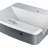 Проектор Optoma X320UST 95.72801GC0E FULL 3D, DLP, XGA 1024*768,4000 ANSI Lm, 20000:1,TR 0,33:1; Ультракороткофокусный; HDMI x2, 15-pin D-sub x2, композит, аудио-Jack x2, USBB;VGA OUT, Audio OUT-MiniJack; Trigger+12V;3D Sync, RS232, RJ45; 16W; 4