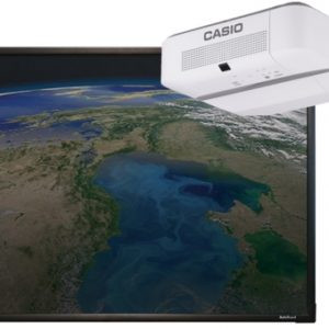 ActivBoard Touch 10 касаний и Проектор Casio XJ-V2
